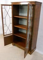 Yew Bookcase Cabinet - SOLD